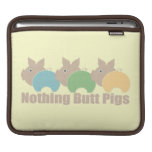 Nothing Butt Piggy Sleeves For iPads
