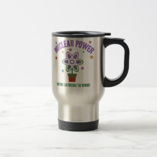 Nothing Can Go Wrong! 15 Oz Stainless Steel Travel Mug
