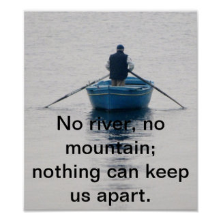 Nothing can keep us apart poster