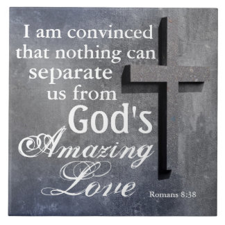 Nothing can separate us from God's Love, Cross Tile
