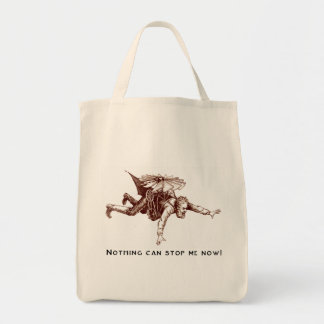 Nothing Can Stop Me Now Organic Tote Bag