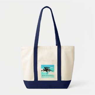 Nothing Can Stop Me Now Shopping Bag