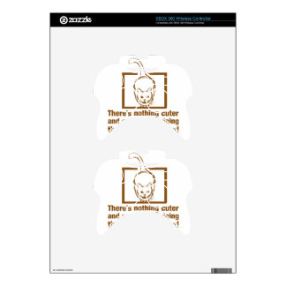 Nothing Cuter And Entertaining Than A Cat In A Box Xbox 360 Controller Skin