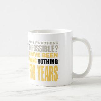 Nothing Doer Coffee Mug