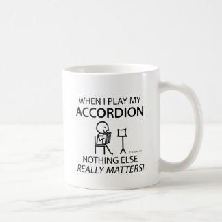 Nothing Else Matters Accordion Classic White Coffee Mug