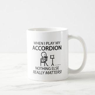 Nothing Else Matters Accordion Coffee Mug