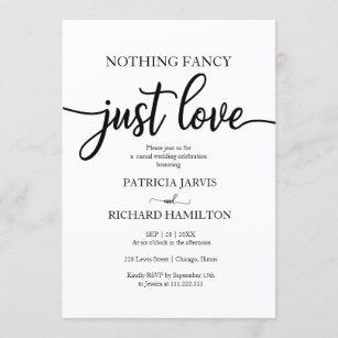 Simple Classic RSVP Reception Card WI04 Monogram Wedding Invitation Traditional Wedding Black /& White Wedding Invite Suite
