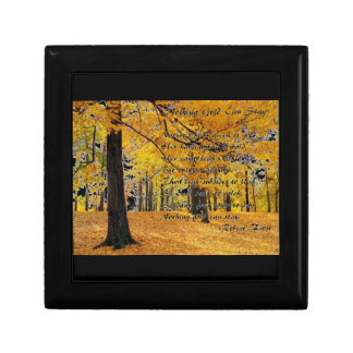 Nothing Gold Can Stay by: Robert Frost Keepsake Box
