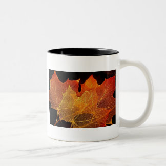 Nothing Gold Can Stay Two-Tone Coffee Mug