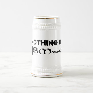 Nothing in Moderation 18 Oz Beer Stein