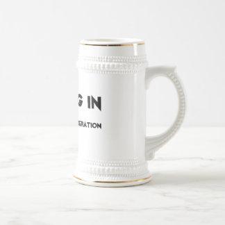 Nothing in Moderation Mugs