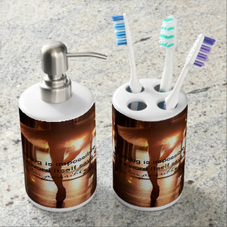 Nothing is Impossible Ballet Toothbrush & Soap Set