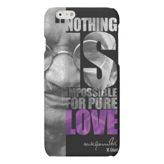 Nothing Is Impossible Ghandi iPhone 6 Case