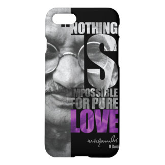 Nothing Is Impossible Ghandi iPhone 7 Case