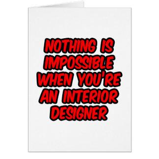 Interior Designer Jokes Greeting Cards