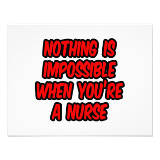 Nothing Is Impossible...Nurse Invites