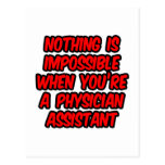 Nothing Is Impossible...Physician Assistant Post Cards