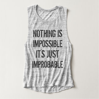 Nothing is Impossible Tank Top