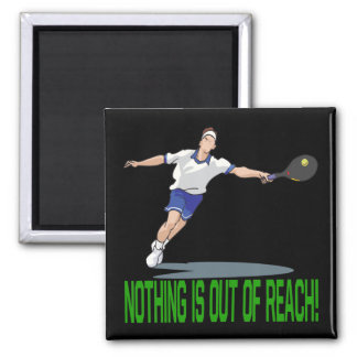 Nothing Is Out Of Reach 2 Inch Square Magnet