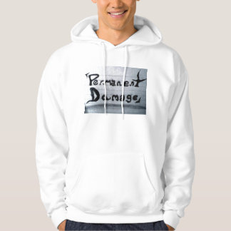 nothing is permanent (permanent damage) hoodie