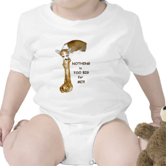 NOTHING is to big for ME!!! Baby Bodysuit