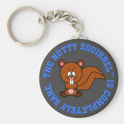 Nothing is wrong with me: I am completely sane Key Chain