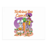 Nothing like Carrot Postcard