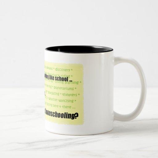 Nothing Like School Mugs