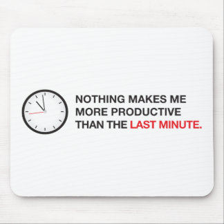 Nothing makes me more productive... mouse pad
