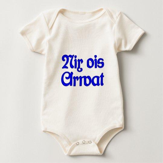 Nothing ois Arwat nothing as work Bavaria Bavarian Baby Bodysuit
