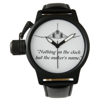 Nothing on the clock wrist watch