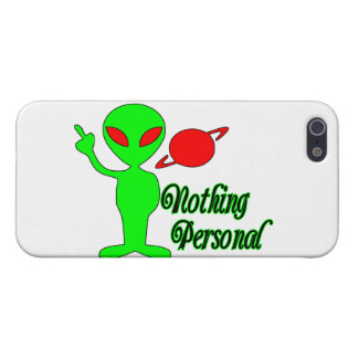 Nothing Personal Space Alien Cover For iPhone SE/5/5s