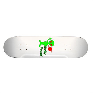 Nothing Personal Space Alien Skateboard