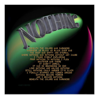 NOTHING POSTERS