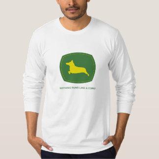 Nothing Runs Like A Corgi Men's Longsleeve T-shirt