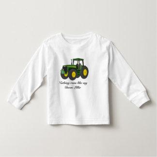 Nothing runs like my Deere girl Toddler T-shirt