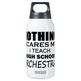 Nothing Scares Me High School Orchestra Insulated Water Bottle