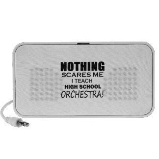 Nothing Scares Me High School Orchestra Portable Speaker