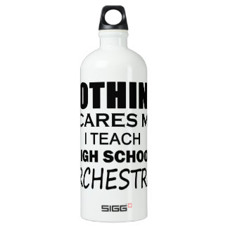 Nothing Scares Me High School Orchestra Water Bottle