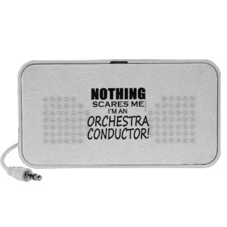 Nothing Scares Me Orchestra Conductor Travelling Speaker
