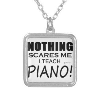 Nothing Scares Me Piano Necklaces