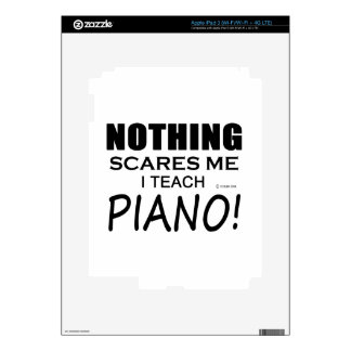 Nothing Scares Me Piano iPad 3 Decal