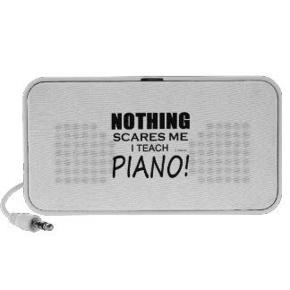 Nothing Scares Me Piano iPod Speakers