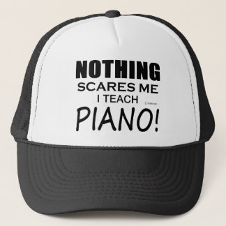 Nothing Scares Me Piano Trucker Hat