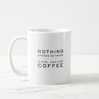 """""""Nothing Stands Between..."""" - Classic White Mug"""