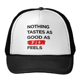 Nothing Tastes as Good as FIT feels - Inspiration Trucker Hat