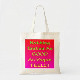 Nothing Tastes As Good Pink/Green Tote Bag