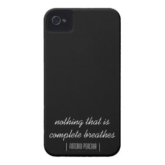 Nothing That Is Complete Breathes iPhone 4 Case-Mate Case