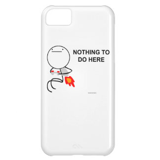 Nothing to do here case for iPhone 5C