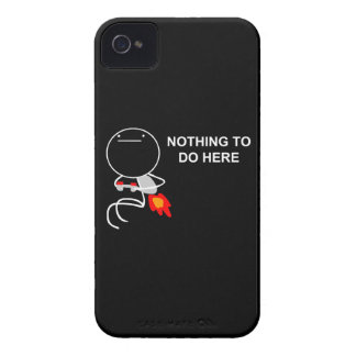 Nothing To Do Here - iPhone 4/4S Black Case
